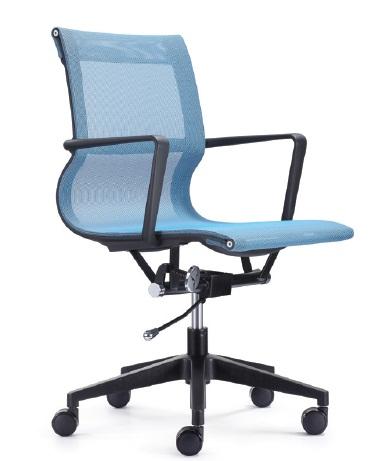 Chaise opérateur filet bleu, série MA