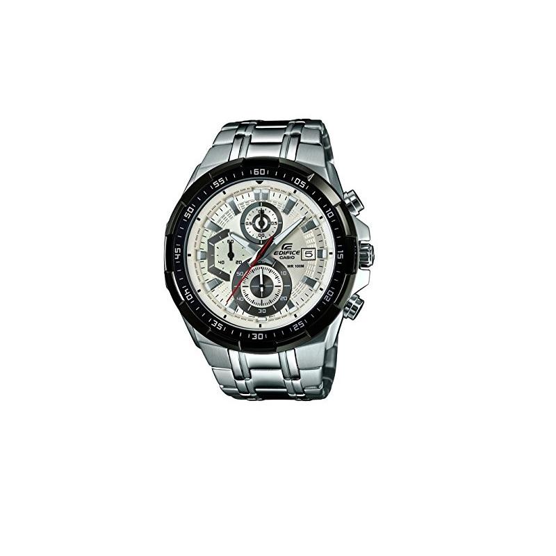 Montre homme CASIO Edifice EFR-539D-7AVUDF Chronographe Bracelet Argenté