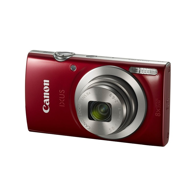 Appareil photo numérique CANON IXUS 185, 20MP, Zoom Optique 8x, Rouge