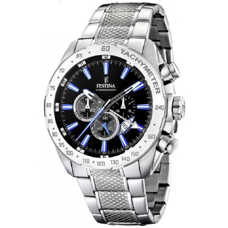 Montre Chronographe pour Hommes FESTINA 16488/3 Bracelet Argente