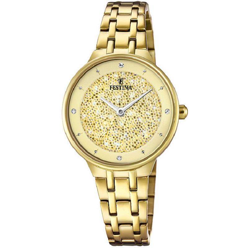 Montre pour Femmes FESTINA F20383 Bracelet Gold