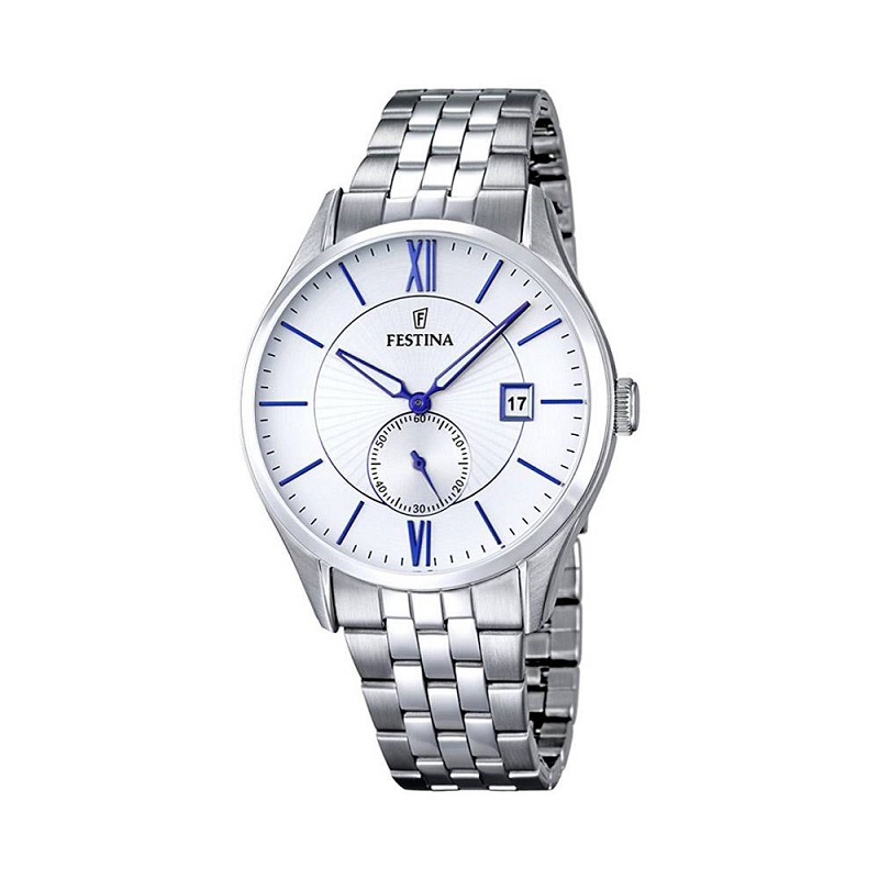 Montre pour Hommes FESTINA F16871 Bracelet Argenté