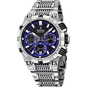 Montre chronographe pour Hommes FESTINA F16774/5 Bracelet Argenté