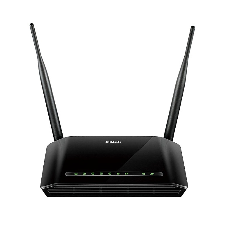 Routeur D-LINK sans fil N300 ADSL2+, 2 antennes externes, 4 Ports 10/100Mbps, USB