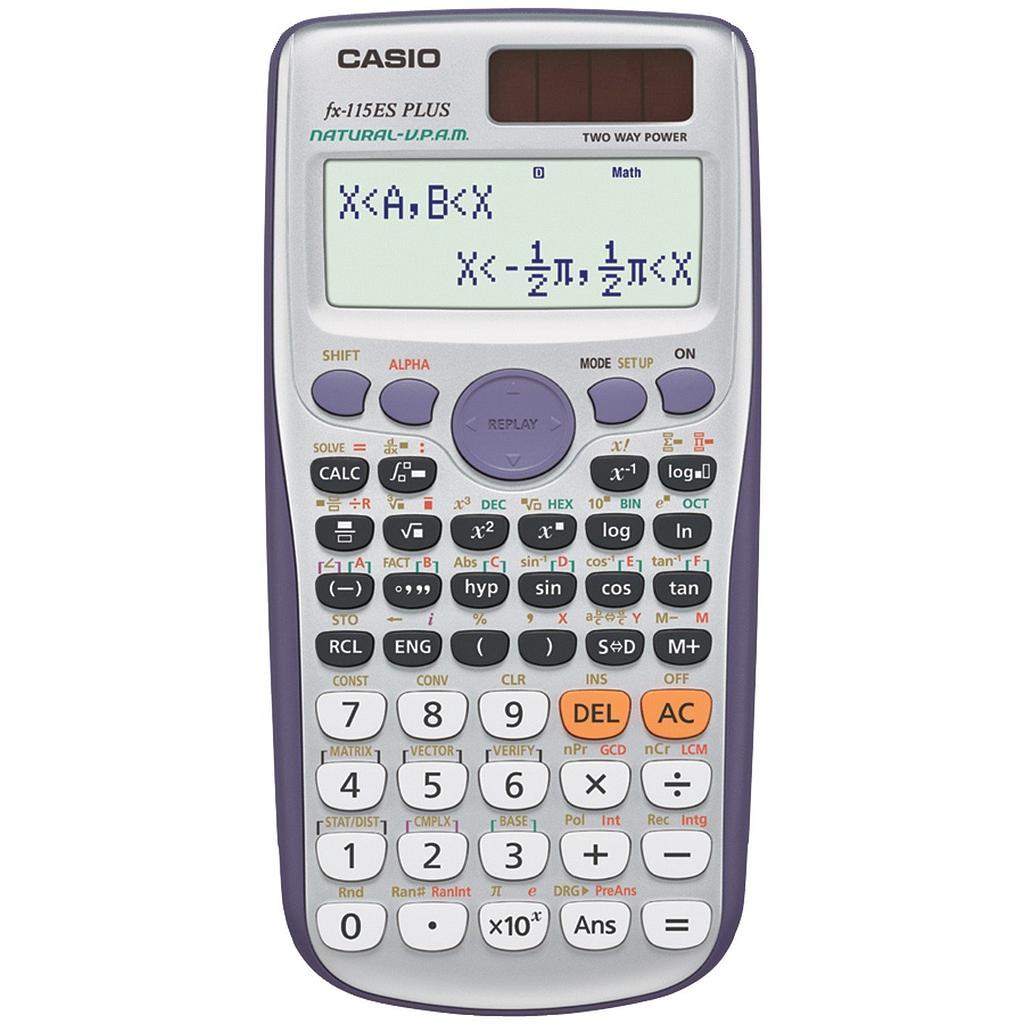 Calculatrice CASIO FX-991ES scientifique 417 fonctions