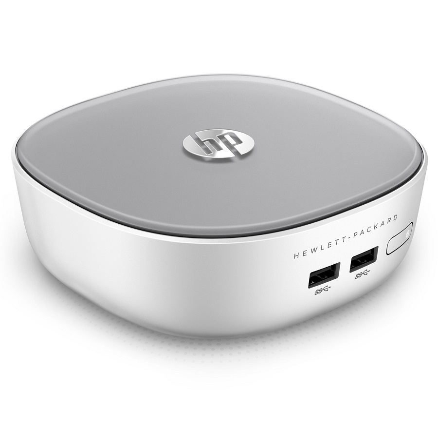 U.C HP Pavilion Mini Desktop 300-020NF,Intel Pentium Dual Core 3558U, 4Go, 500Go, Windows 8.1