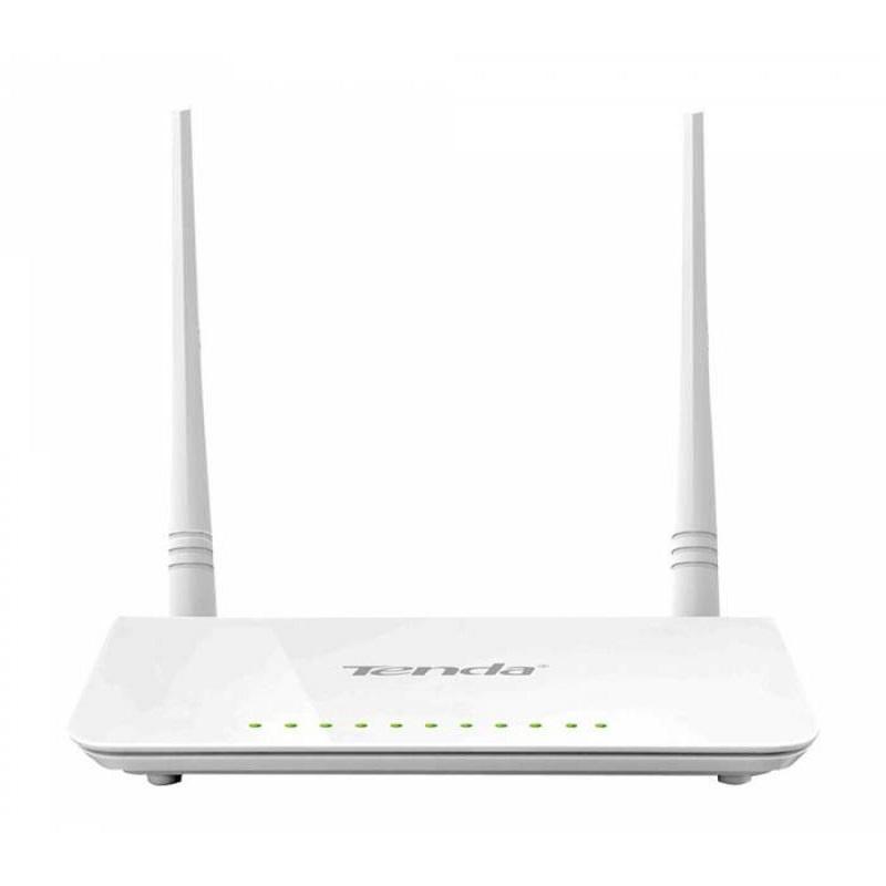 Routeur sans fil TENDA D301 v2 ADSL2+, 300Mbps, 2 Antennes externes, 4 Ports, USB 2.0
