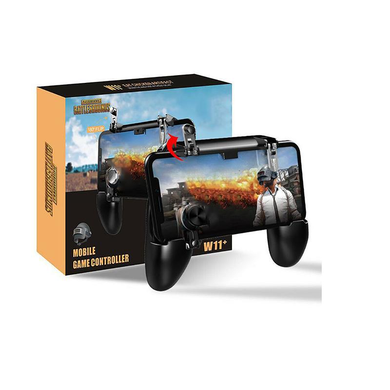 Manette de jeux PUBG Mobile W11 + ajustable pour Android/ IOS
