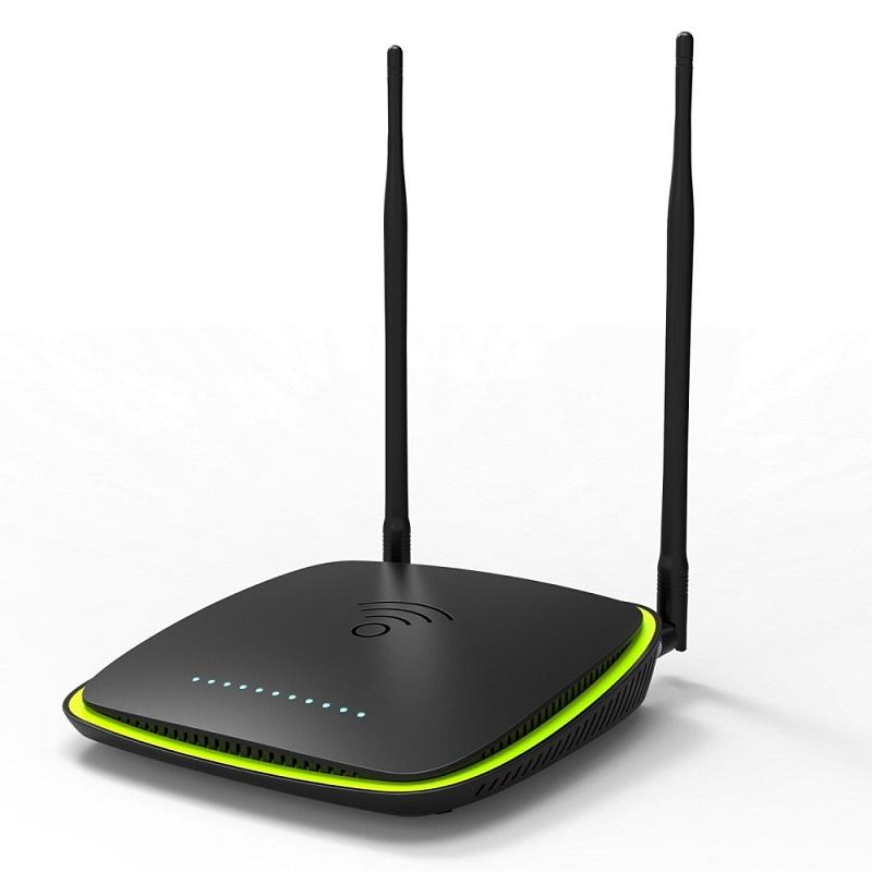 Modem Routeur ADSL2+ sans fil TENDA D1201, 1200Mps, avec 4 port 10/100/1000Mbps, 2 Antennes détachables, port USB