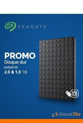 Promo Disque dur externe SEAGATE 1 & 2To