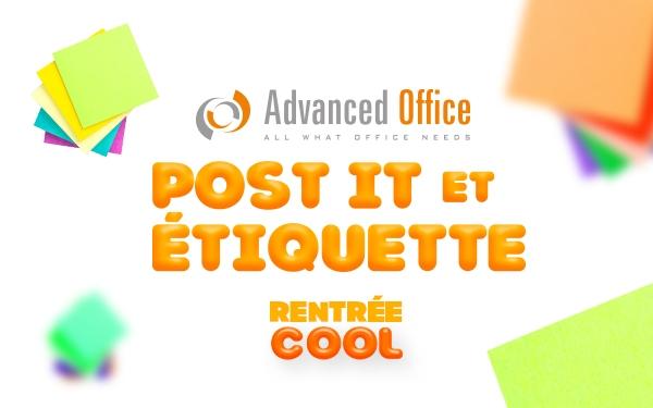 Advanced office - Rentrée Cool - Etiquettes